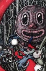 "Swamp Creator, Lithograph, 2015, 12"" x 16"""